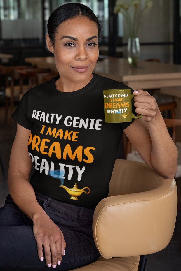 Realty Genie I Make Dreams Reality Real Estate T Shirt