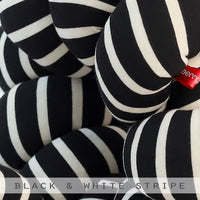 Black & White Knot Cushion