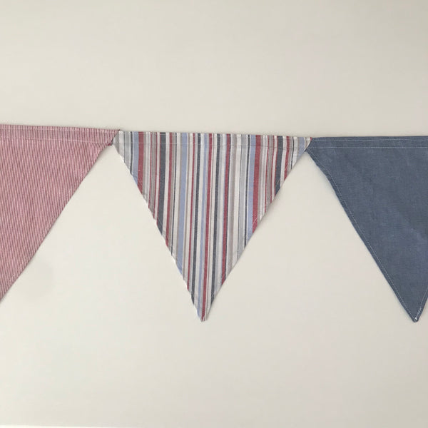 Bunting - Red, Navy & Blue