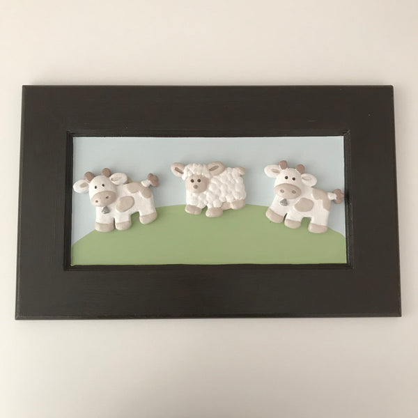 Buttercup Farm - Large Ceramic Picture Frame