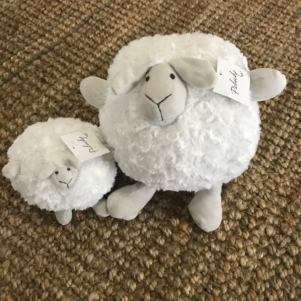 Fluffy Sheep - White