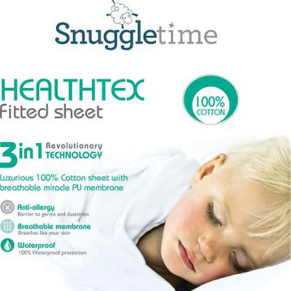 Healthtex Sheets / Mattress Protector – 100% Cotton with PU Membranes