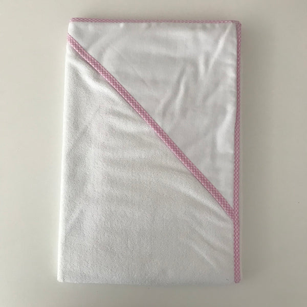 Hooded Towel - Pink