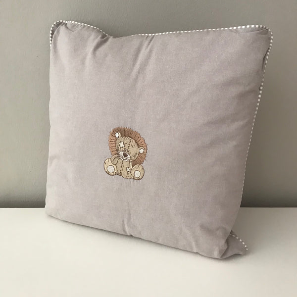 Jungle Animals Stone Lion -  Scatter Cushion