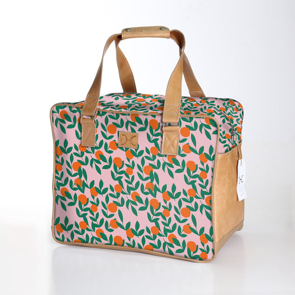 It's all Peachy Bloom - Laminated Weekender Bag