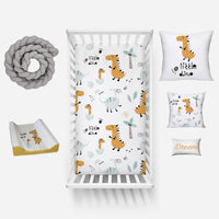 Little Dino Linen Set