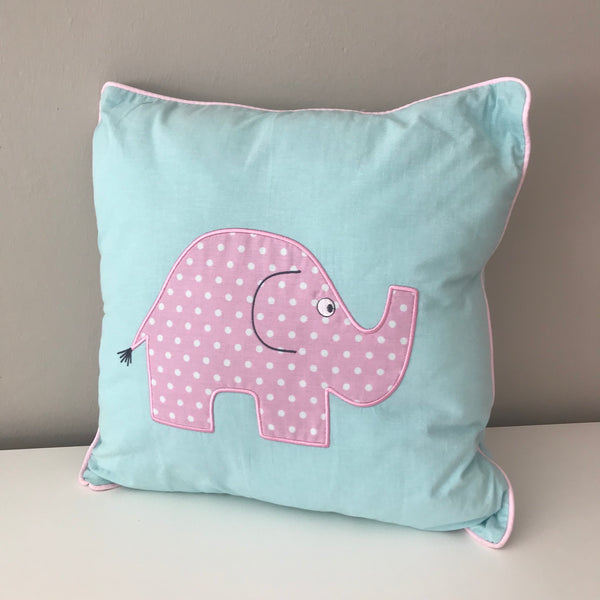 Owl & Ellie Scatter Cushion - Pink & Aqua