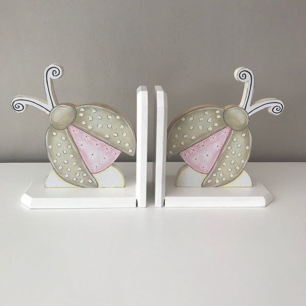 Precious Princess Pink & Stone - Set of Bookends