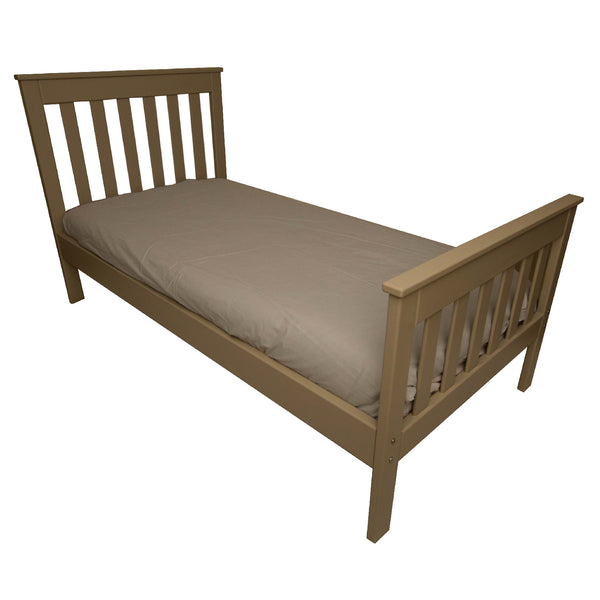 Straight Slatted Bed
