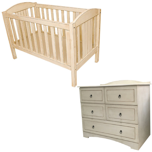 Casey Cot & Large Compactum - 5 Drawers