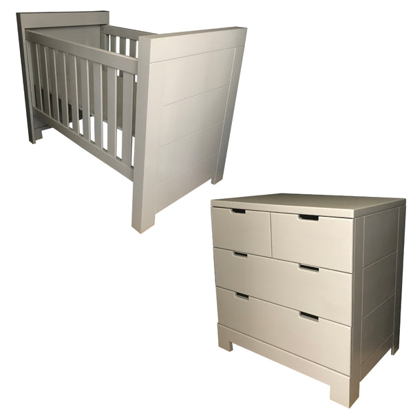 Jethro Cot & Small Jethro Compactum - 4 Drawers