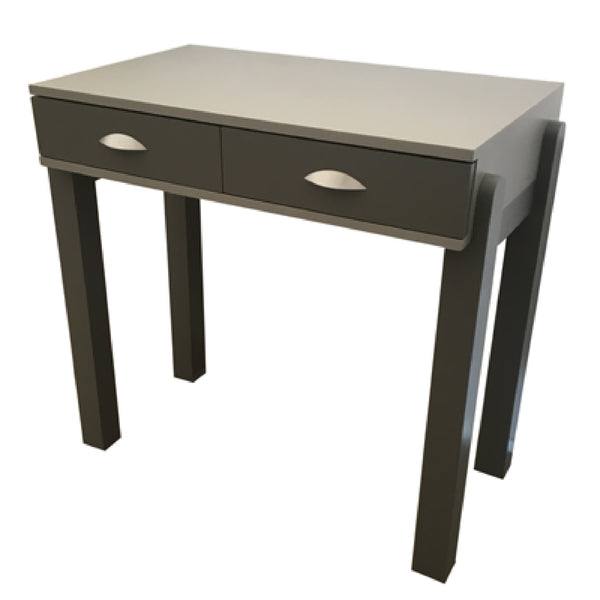 Desk / Dressing Table with 2 Drawers - Bold Foot