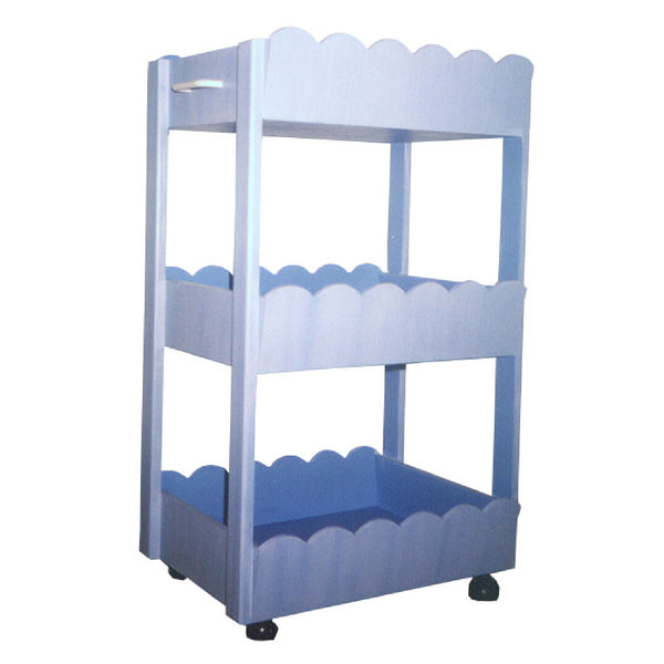 Storage Trolley - Scalloped