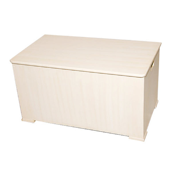 Toy Box With Wooden Lid - Large