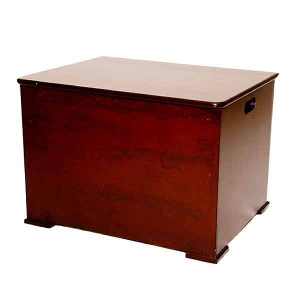 Toy Box With Wooden Lid - Small