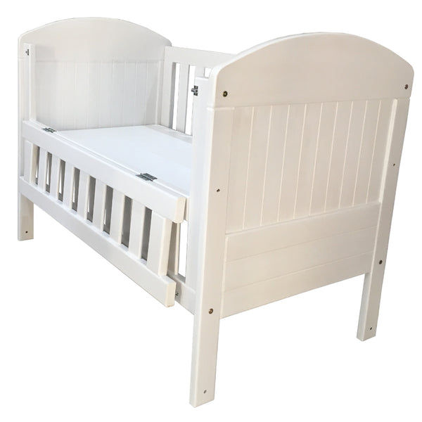 Chad Cot with Hinged Side
