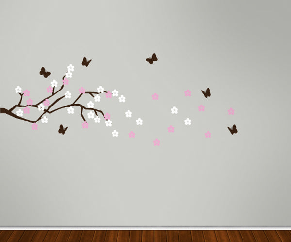 Spring Time Branch - Vinyl Sticker