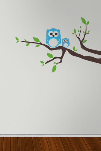 Cutest Owl Family - Vinyl Sticker