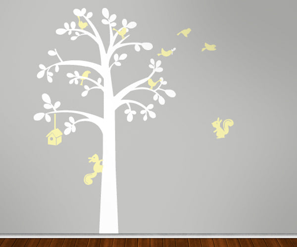Rounded Leaf Tree - Vinyl Sticker