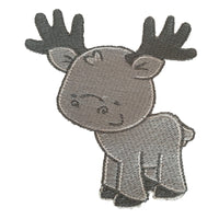 Forest Friends Linen Set - Grey
