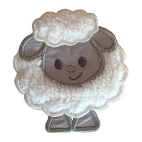 Little Sheep Linen Set - Charcoal