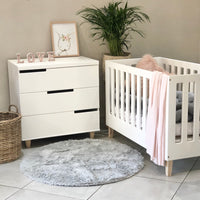 Jade Cot & Small Jade Compactum - 3 Drawers