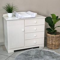 Large Compactum - 1 Door, 4 Drawers