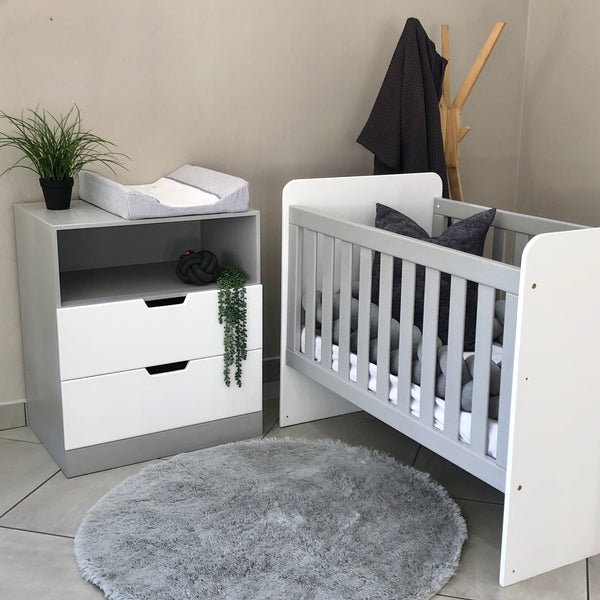 Piccolo Cot & Changing Table - 2 Drawers