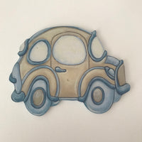 Terrific Transport Blue & Stone Car - Character Cut Out 15cm
