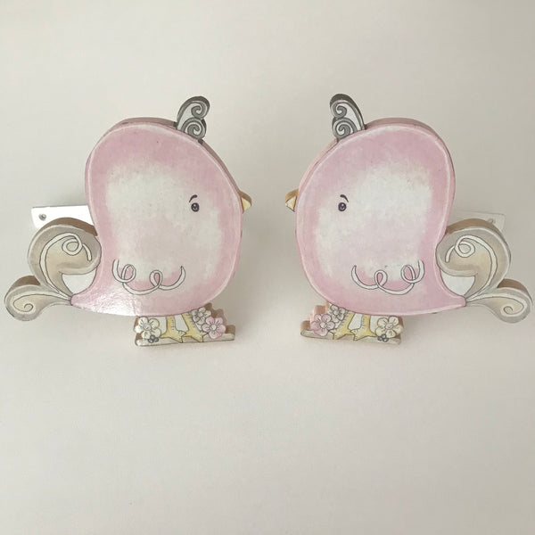 Tweety Bird Curtain Tie Backs - Pink