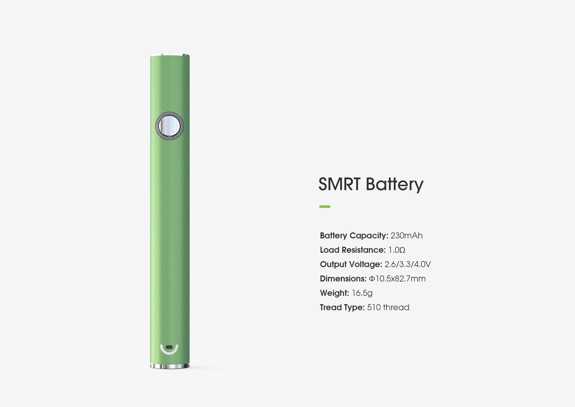 CRMC SMRT BATTERY technology