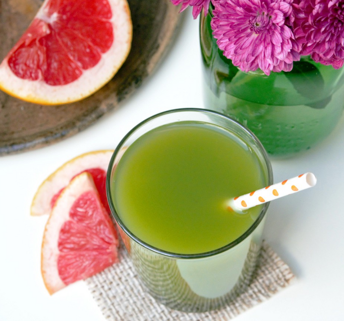 Matcha-Grapefruit Detox Drink
