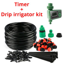 Load image into Gallery viewer, 25M DIY Drip Irrigation System Automatic Watering Irrigation System Kit Garden Hose Micro Drip Watering Kits Adjustable dripper