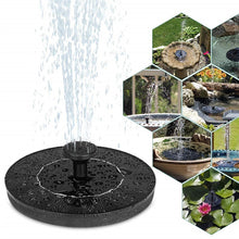 Load image into Gallery viewer, New Solar Power Water Fountain Pump Solar Fontein Bird Fountain Water Floating Fountain Pond Garden Patio Decor Lawn Decoration
