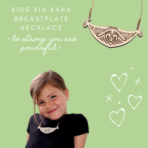 Child's Kia Kaha Breastplate Necklace