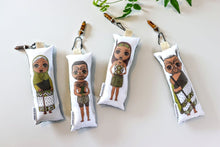 Load image into Gallery viewer, Kākāriki Maori Plushies - POWER + CLARITY + MOTIVATION