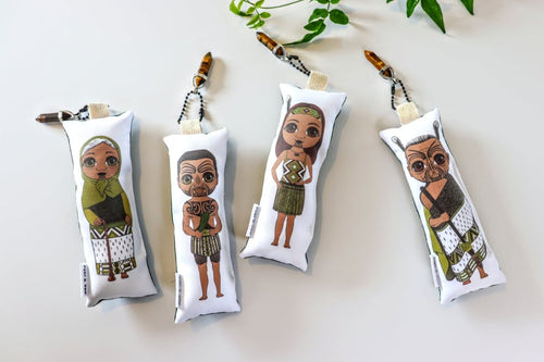 Kākāriki Maori Plushies - POWER + CLARITY + MOTIVATION