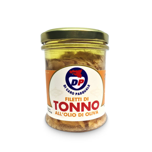 Filetti di Tonno all' Olio di Oliva 190 gr.