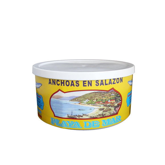 Acciughe salate da 5 kg II/III barra Playa de mar - Di Caro Pasquale Shop