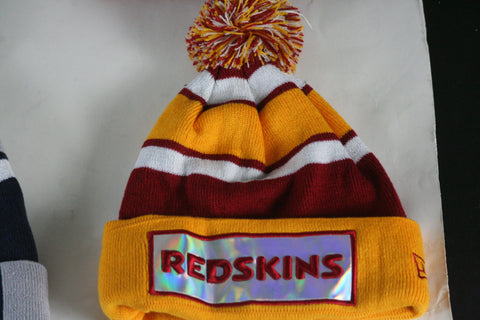 Redskins Faceplate Beanie - HatsbyWill  - 1