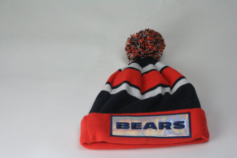 Chicago Bears faceplate Beanie - HatsbyWill  - 1
