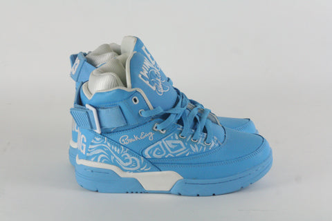 EWING ATHLETICS CUSTOM WHITE/SKYBLUE - HatsbyWill  - 1