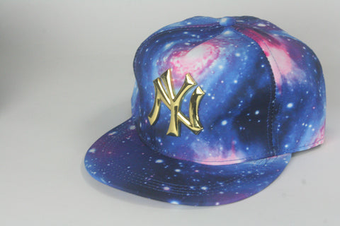 Yankees Full Galaxy Snapback - HatsbyWill  - 1