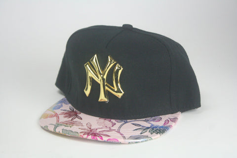 Yankees floral magic brim snapback - HatsbyWill  - 5