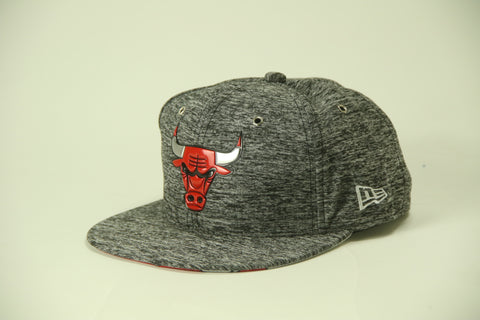 Bulls Stone-wash gray snap back