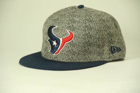 Texans gray blue brim