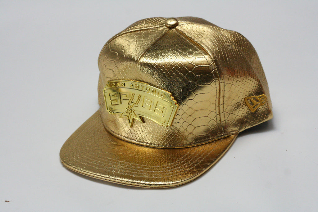 Spurs gold logo All Gold Snapback - HatsbyWill - 1 f38a805c7cd