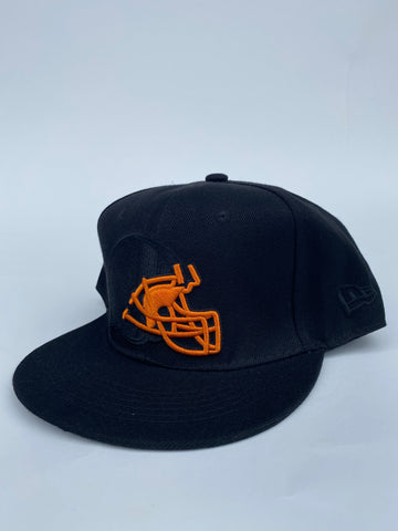 Browns blkout snapback