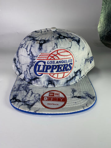 Clippers stonewash snapback