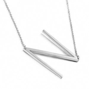 Minima Initial Necklace - Sateur Allure